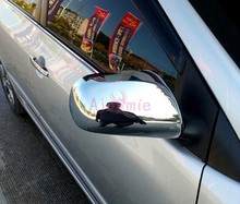 For Corolla 2008 2009 2010 Yaris Vios XP90 2005-2013 Side Mirror Cover Rear View Overlay Panel Chrome Car Styling Accessories accessories for toyota vios xp90 2008 2013 accessories interior leather carpets cover car foot mat floor pad 1set