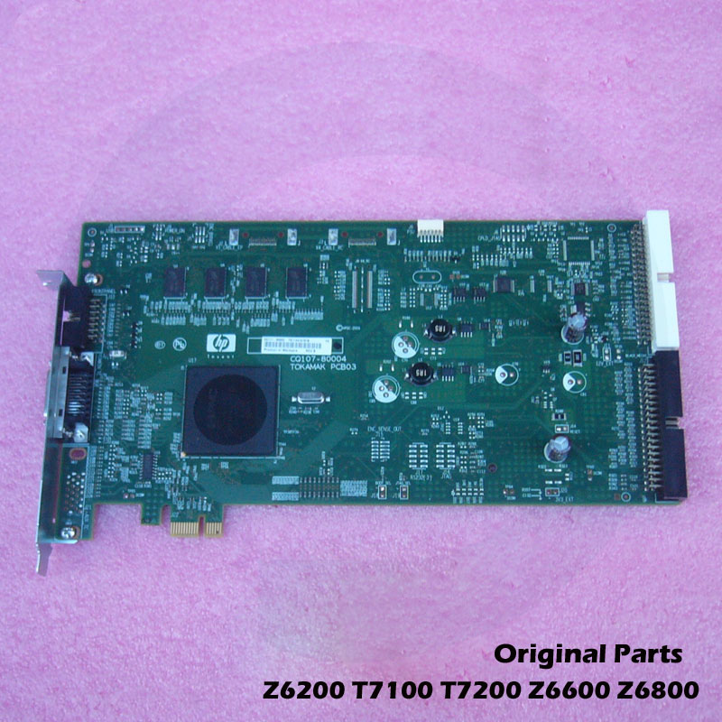 Original For HP DesignJet T7100 T7200 Z6800 Z6810 Z6200 D5800 Z6600 Z6610 Main PCA Board CQ109-67028 CQ111-60002 image