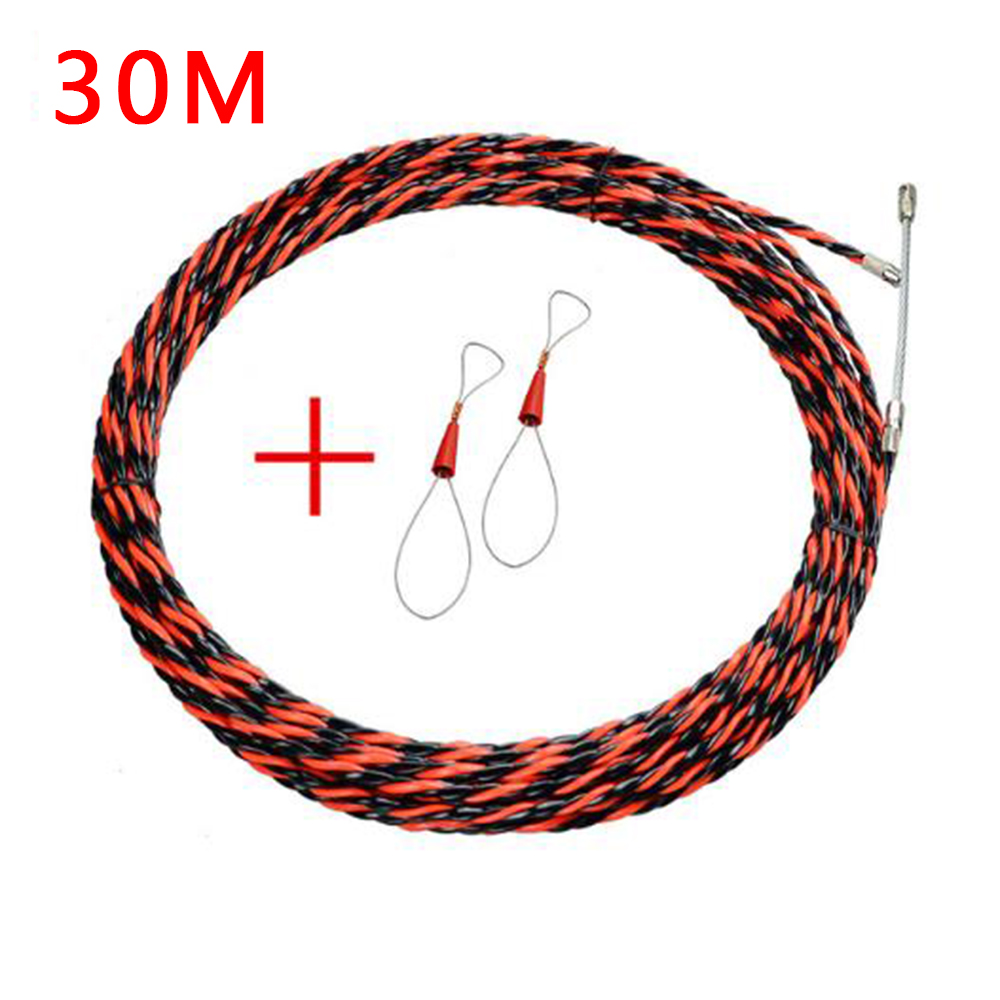 5-50m Electrician Wire Threading Device Cable Guides Puller Duct Conduit Wiring