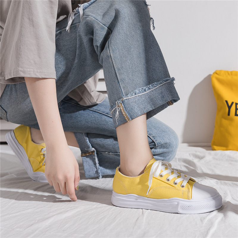 1970 Engraved Classic Canvas Shoes Student Korean-style Breathable Sneakers Hong Kong Style Fashion Harajuku Trendy Shoes