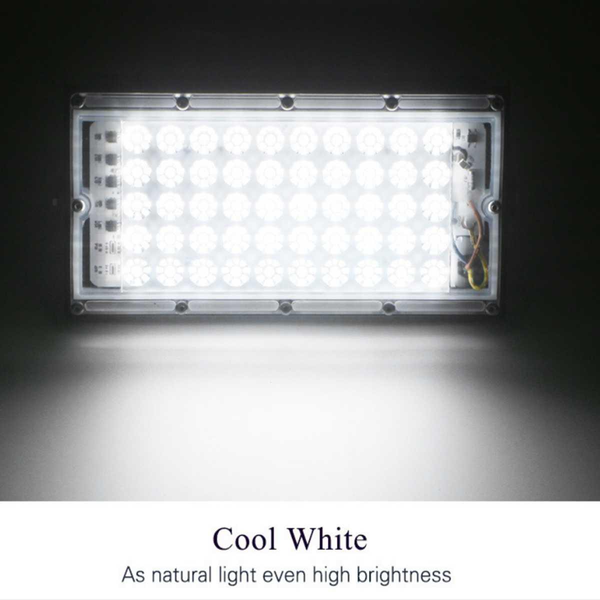 LED 50W UVC Yg Menghapus Kuman Penyakit Lampu Flood Light 110V 220V Lampu Sorot Outdoor Taman Dinding Lampu Jalan LED reflektor Cahaya Dilemparkan