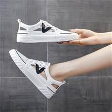 Low-Top Shoes Casual Shoes Fashion Sports Hole Shoes White Shoes Single Mesh Women's Shoes Sandals