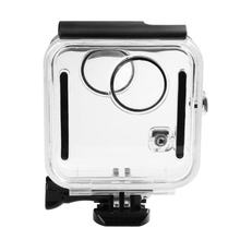 Underwater 45M Waterproof Case Housing Diving protective shell cover For GoPro Fusion 360 water sports Action Camera(China)