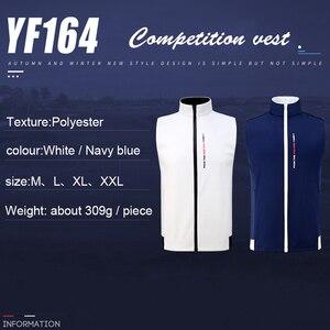Image 4 - 1 stuk Golf Vest PGM Kleding golf Kleding mannen vest herfst en winter thermische vest winddicht waterdichte jas
