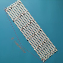 8+1 Pcs/set New LED Strip K490WD7 A1 4708 K49WD7 A1213K11 49PFF5455/T3 49PFF5250 LE49K51S