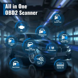 Image 2 - Thinkcar Thinkdiag Mini OBD2 Scanner Bluetooth professionale OBD 2 Scanner automobilistico 15 Reset servizio strumento diagnostico Easydiag