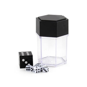 1PC Magic Trick Toys Big Explode Explosion Dice Close Up Magic Trick Joke Prank Toy Funny Game Children Kids Gift for Beginner(China)