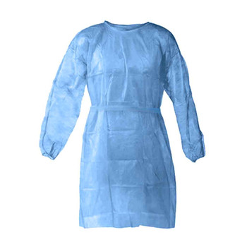 Disposable Protection Gown Dust Spray Suit Siamese Non-woven Dust-proof Anti-rain Splash Clothing Safely Protection Clothes 4