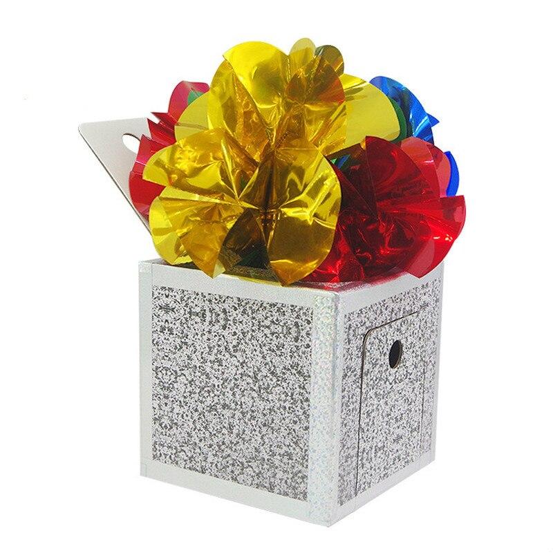 Boîte de Production tours de Magie boîte de mystère peut bricolage scène objets Magia apparaissant de la boîte vide Magie mentalisme accessoires de Gimmick