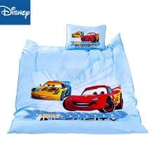 цена на Disney cartoon Mcqueen car 3Pcs Baby Bedding Set For Boy Girl Cotton Kids Bed Cot Kit Crib Bedding For Newborns Filler hot sale