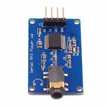 YX5300 mp3-плеер модуль Wav Формат музыкальный плеер голосовой последовательный порт управление музыкальный модуль TF слот для карты плеер модуль
