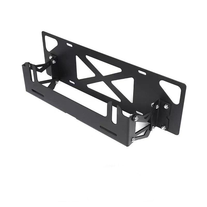 Car-styling Adjustable Car License Plate Frame Holder Auto Number Plate Mount Bracket for ford for unverisal vehicle