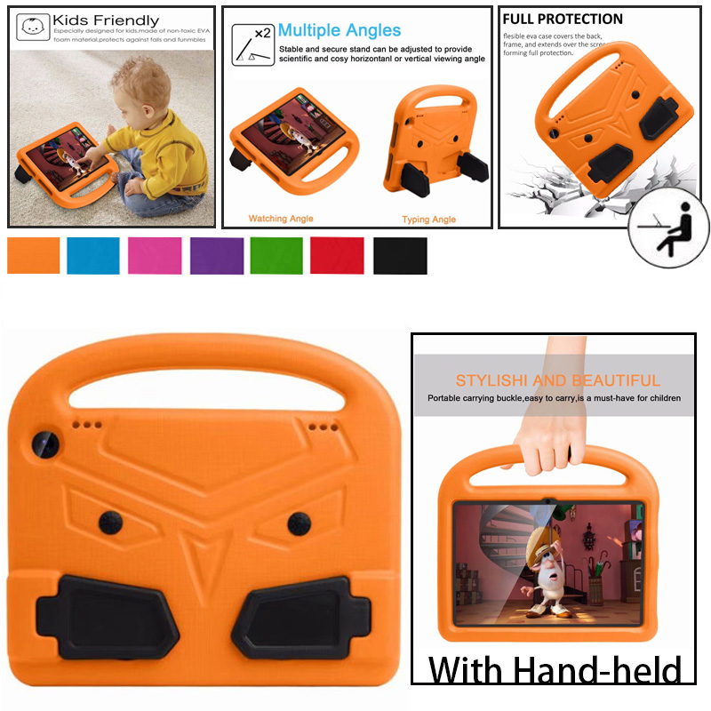 Защитный чехол для планшетов Amazon Fire HD 8, 8 дюймов, 2017, 2018, 2020, защитный чехол для детей, защитный чехол из вспененного этилвинилацетата, чехол-п...