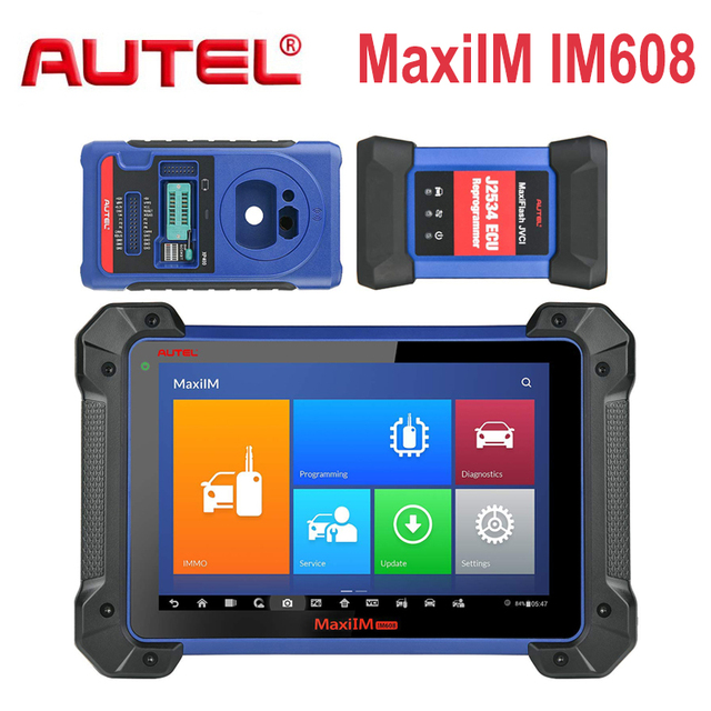 Autel MaxiIM IM608 OBD2 диагностический инструмент OBDII IMMO и ключевой программатор OBD2 масло сканера Reset/EPB/BMS/SAS/DPF Service PK IM508