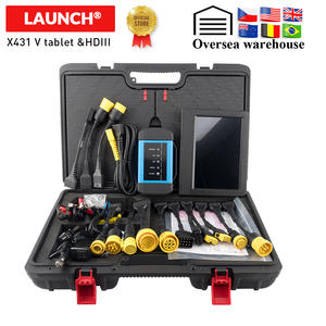 LAUNCH Diagnostic-Tool Truck Heavy-Duty V-Plus Update Online Bt-Connect 24v HDIII Full-Sysyem