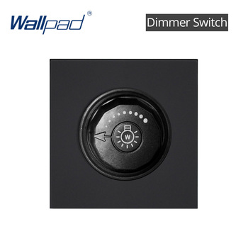 S6 Series Glass Switch and Socket DIY Combination Wall Button Light witch Power Outlet Socket Crystal Black Glass DIY Wallpad 12