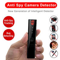 Mini Anti Spy Hidden Camera Detector Pen LED Infrared Scanning RF Signal Detection Wireless Bug Micro Cam GSM GPS Tracker Finder