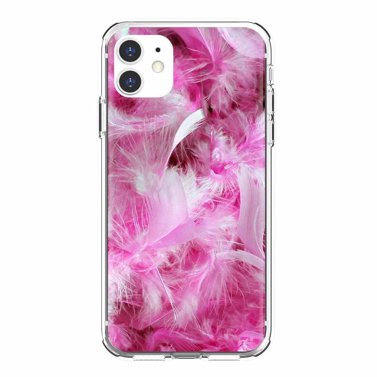 Ốp Điện Thoại Da Dành Cho Samsung Galaxy Note 2 3 4 5 8 9 S2 S3 S4 S5 Mini S6 s7 Edge S8 S9 Plus Lông Tơ Lông Màu Hồng In Ngọt Ngào