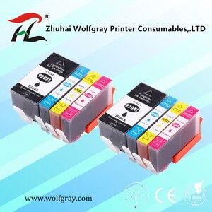 8 шт. 920 совместимый чернильный картридж для HP 920XL для HP 920 Officejet 6000 6500 6500A 7000 7500 7500A принтер с чипом