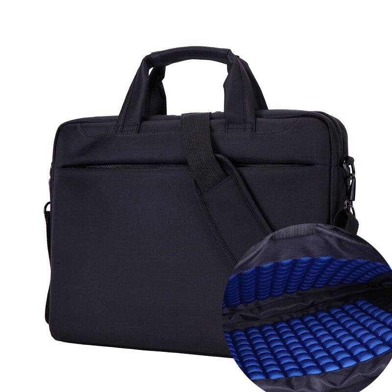 Nlylon À Prova D' Água Bolsa de Ombro Laptop Notebook 14 15.6 17.3 polegada Air BAG Caso Mensageiro das Mulheres da Bolsa Maleta Homens bolsa de transporte