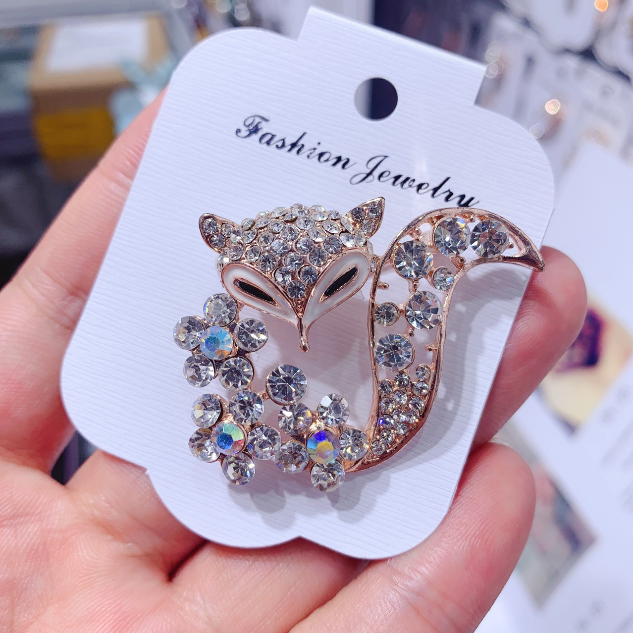 Ladies Brooch Women's Simple Fashion Fox Corsage Sweater Coat Accessories Brooch For Women Animal Party Wedding Brooches Pins 1