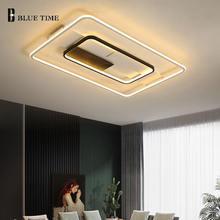 Потолочная светодиодная люстра современная домашняя лампа 110