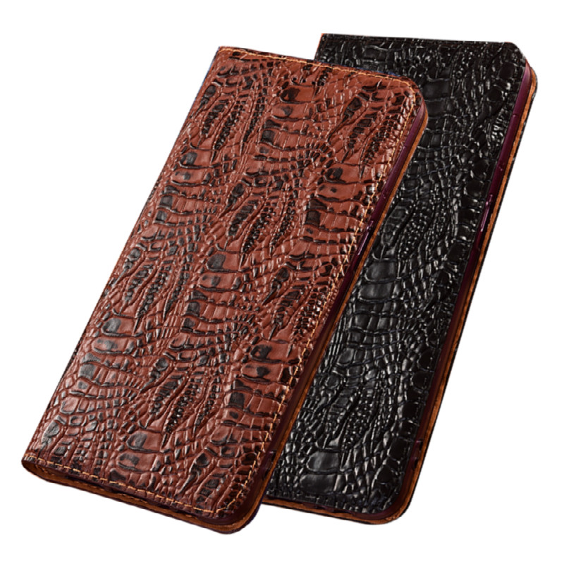 Genuine Leather Magnetic Holster Cover Card Pocket Case For Huawei Honor 8X Max/Huawei Honor 8X Phone Cases With Kickstand Funda|Flip Cases| - AliExpress