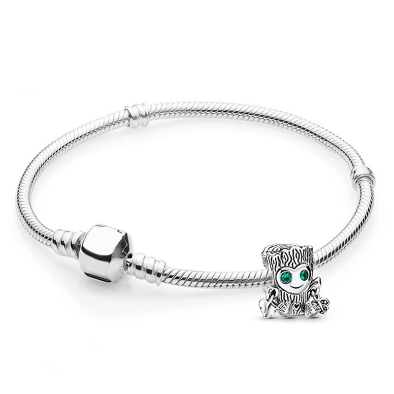 BRACE CODE Silver Plated 925 Snake Bone Chain Charm Bracelet Simple Temperament Bracelet Fit Men and Women Fine Bracelets Gift 3