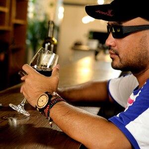 Image 4 - BOBO BIRD męskie zegarki na rękę mechanizm kwarcowy kompletny kalendarz drewniany zegarek wyświetlacz tygodnia relogio masculino w pudełku