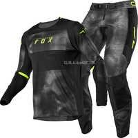 2020 Racing 360 Haiz Jersey & Pant Combo Black UTV ATV MX Motocross Dirtbike Gear Set