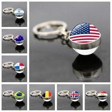 Российский Кубок мира 32 кольцо для ключей подвеска Футбольный