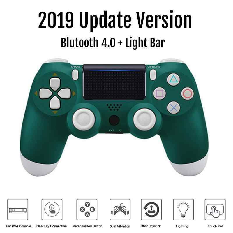 Beesclover Kontroler Nirkabel Bluetooth 4.0 Dual Shock Joystick Gamepad untuk PlayStation 4 PS4 Gamepad