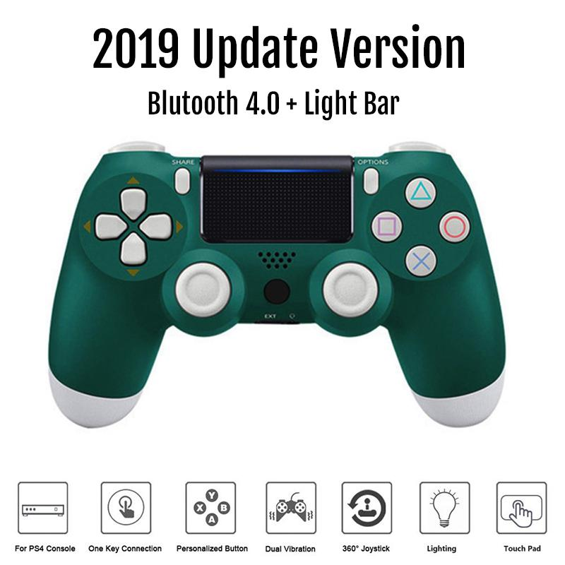 BEESCLOVER Wireless Controller Bluetooth 4.0 Dual Shock Joystick Gamepads for PlayStation 4 PS4 Gamepad image