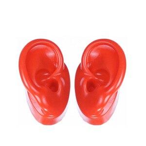 Image 4 - 1 זוג צבעוני דגם הדגמה אוזן עבור מכשירי שמיעה אוזן תצוגת חינוך דגם