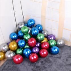 5-Polegada metálico balão festa de aniversário decoração do feriado arranjo casamento natal chá de fraldas aniversário