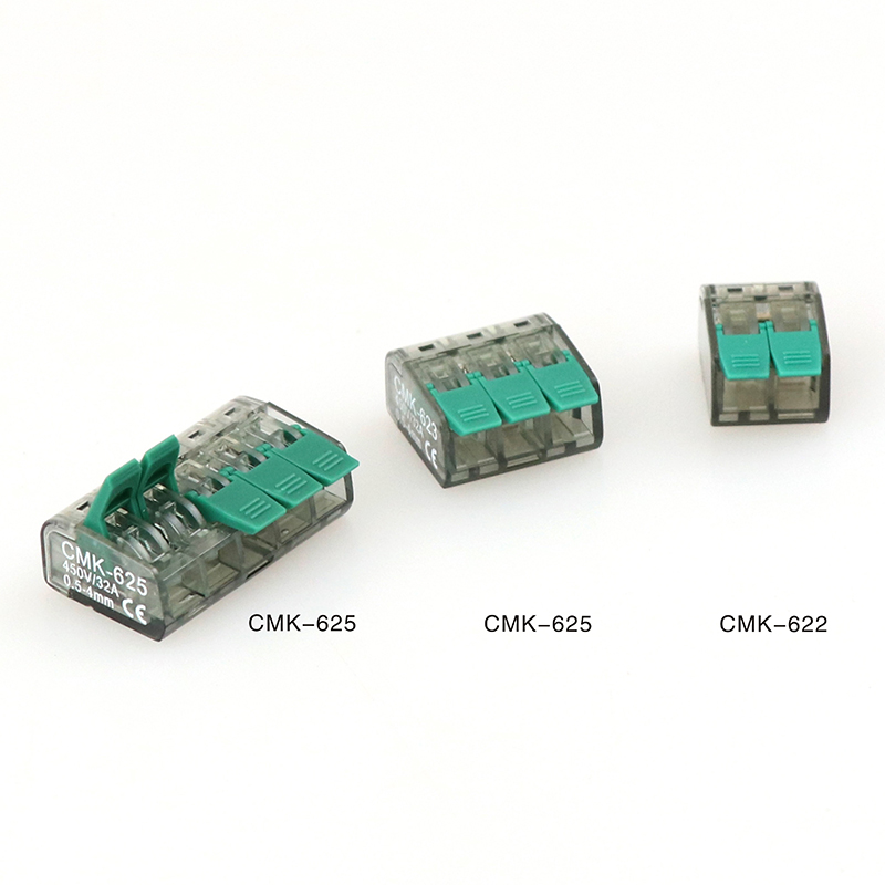 Connector Mini Quick Wire Connector 10 Pieces Universal Compact Terminal Block Plug-in Electrical Wire Connectors