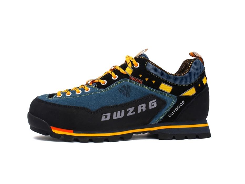 2018 Waterproof Hiking Shoes Mountain Climbing Shoes Outdoor Hiking Boots Trekking Sport Sneakers Men Hunting Trekking