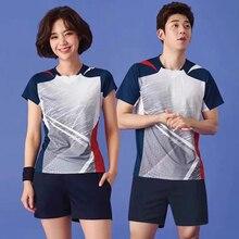 2021 Men women short sleeve golf table tennis shirts Fashion Men Tennis clothing male badminton shirt outdoor running t-shirt