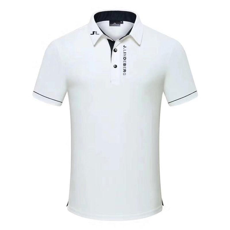 New Sportswear Short Sleeve Golf T-shirt 4 Color JL Golf Clothes S-XXL In Choice Leisure Golf Shirt Cooyute Free Shipping