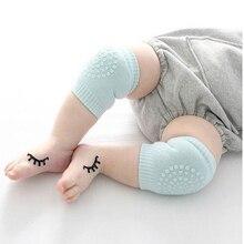 1 пара детских наколенников для защиты коленей, теплые детские гетры для новорожденных, Нескользящие резиновые наколенники для ползания, уход за ребенком