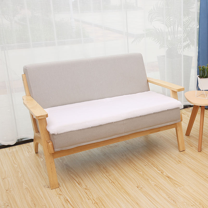ROWNFUR Artificial Sheepskin Carpet For Living Room Kitchen Bath Floor Mat Sofa Chair Cover Nordic Shaggy  INS Area Faux Fur Rug