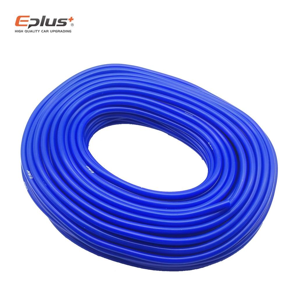 EPLUS Silikon Vacuum Tube Schlauch Silicon Schläuche Universal 3MM 4MM 6MM 8MM 10MM 12MM blau Auto teile Freies Lieferung