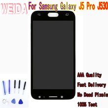 5'' For Samsung Galaxy J530 J530F J530FM SM-J530F J5 Pro 2017 LCD Touch Screen Digitizer Assembly for J530 LCD with Free Tool цена и фото
