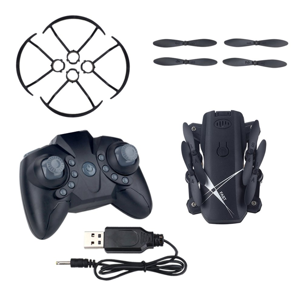 HOT LF602 2.4G Mini FPV Foldable RC Quadcopter Drone Aircraft With 720P HD Wifi Camera Gesture Selfie Altitude Hold Gift Kids