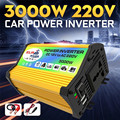 3000 Вт Инвертор солнечной энергии автомобиля лодки инверторы конвертер DC 12 В в AC 220 В USB зарядное устройство модифицированная волна