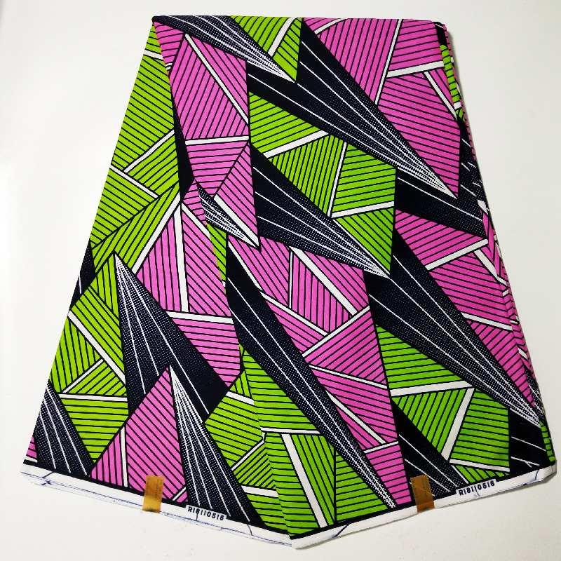New Guaranteed Real Dutch Wax Block Prints In Original Wax 100% Cotton Veritable Wax Veritable African Ankara Fabric