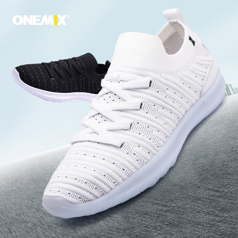 Onemix Bassics Style women  running shoes with sneakers outdoor walking jogging sneakers popular comfortable sneakers