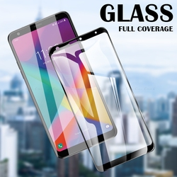На Алиэкспресс купить стекло для смартфона full cover screen protector tempered glass for lg q51 q60 q70 stylo 5 plus w10 w30 protective film
