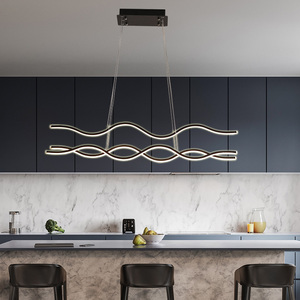 Image 2 - Minimalistische Moderne Led Hanglampen Voor Eetkamer Woonkamer Opknoping Hanglampen Suspension Pendant Lamp Armatuur Gratis Mail