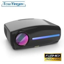 Touyinger светодиодный проектор 1080P full HD мультимедийный проектор AC3 видео 6500 люмен S1080 домашний кинотеатр HDMI Android 9,0 wifi опционально